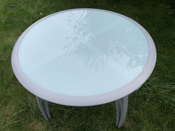 Stolik ogrodowy okrągły