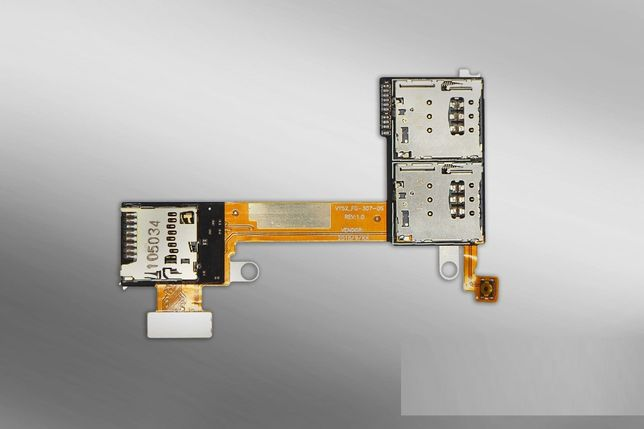 FLEX Sony Xperia M2 Aqua leitor microsd + sim