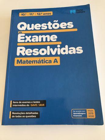 Livro de preparação de exame Matemática A