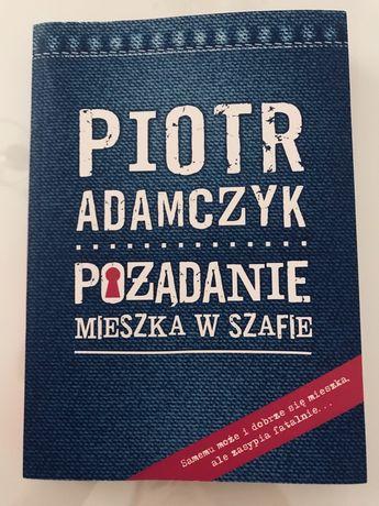 Książka Pożądanie mieszka w szafie Piotr Adamczyk