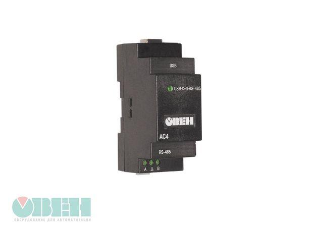 ОВЕН АС4. Автоматичний перетворювач інтерфейсів USB/RS-485