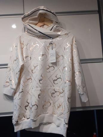 Nowa bluza z kapturem