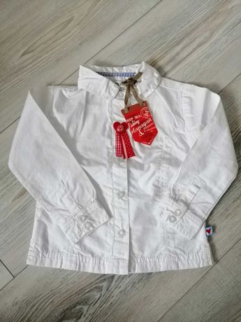 Nowa biała koszula r. 74 bluzka