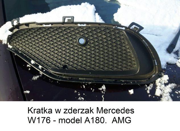 Kratka w zderzak Mercedes W176 AMG klasa A180