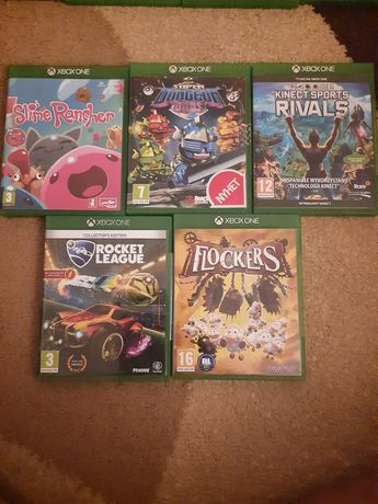 Gry Xbox One X S rivals flockers rocket league slime rencher dungeon