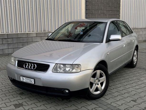 Audi A3 1.8 Turbo, Lift, 5 drzwi, Alu, Wzorowy Stan, Szwajcar,Oplacony
