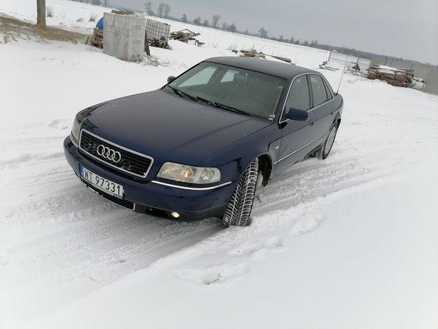 Audi A8 D2 Lift 2000r Zadbana Skóry 2.5tdi Automat