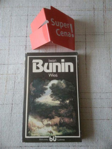 """książka """"wieś"""" Iwan Bunin"""