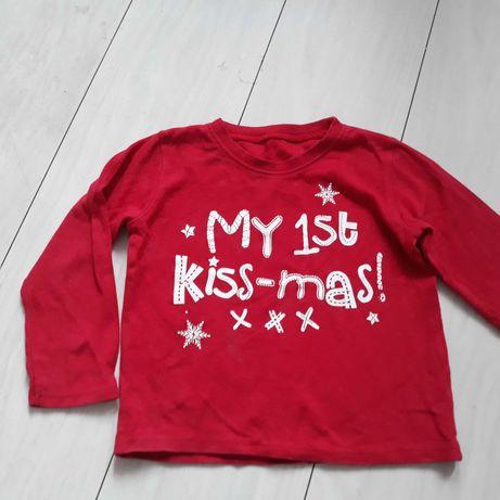 Bluzeczka Moje pierwsze święta 12/18 mscy.