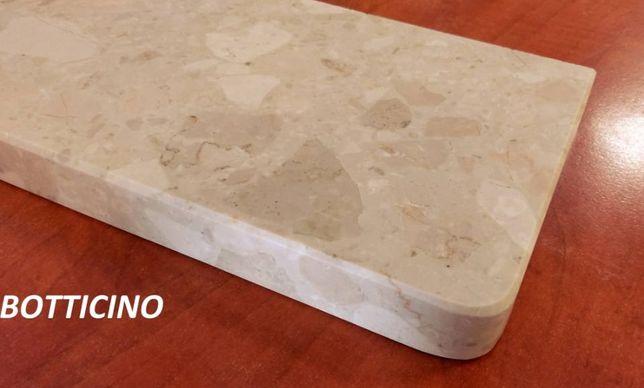 parapet wewnętrzny włoski konglomerat marmurowy Botticino