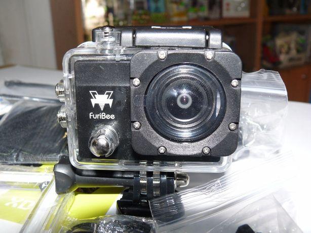 Видеокамера, экшен камера FuriBee Q6FB 4K, с WiFi, аналог GoPro