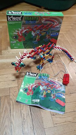 Конструктор knex динозавры