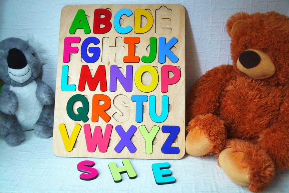 Алфавит пазл подарок Чернигов - изображение 1
