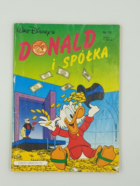 Komiks Donald i Spółka nr 10 / 1991r.