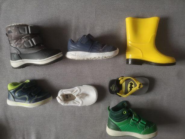 Buty dla Malucha 19 - 22 - śniegowce, nike, trzewiki, trampki, sandały