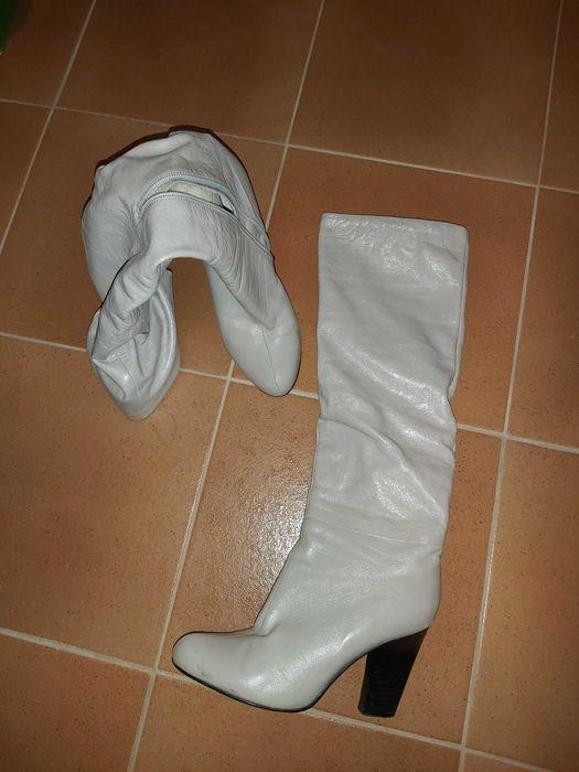 Продам кожанные, стильные, итальянские женские сапоги (зима) Бровары - изображение 1