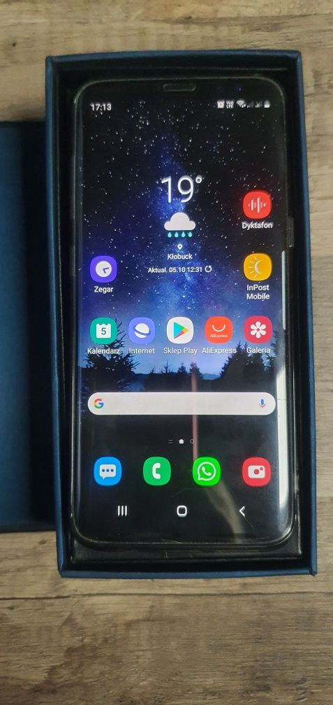 Samsung S8 kolor szary, dual sim, stan bdb, model SM-G950FD