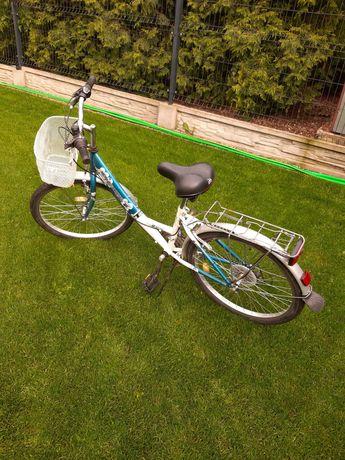 Rower dla dziewczynki Delta 24 cale, przerzutki