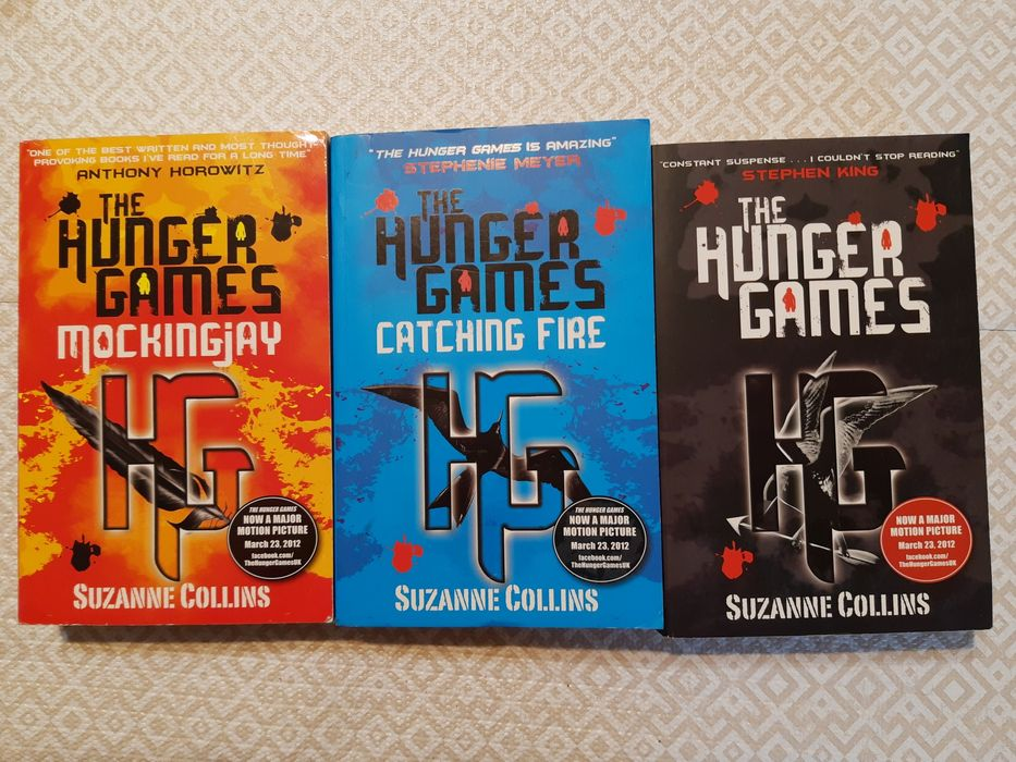 Trylogia Hunger Games Igrzyska Śmierci po angielsku Suzanne Collins Nietulisko Duże - image 1