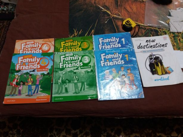 Английский учебник Family & Friend's 1,3,спец класс