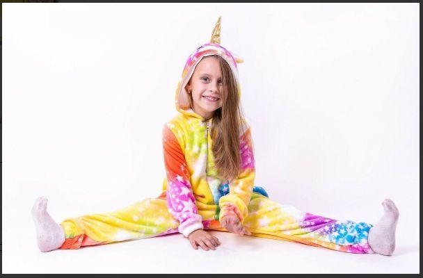 Скидка! Кигуруми единорог пижама домашняя одежда подарок