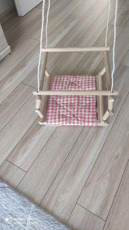 Huśtawka drewniana