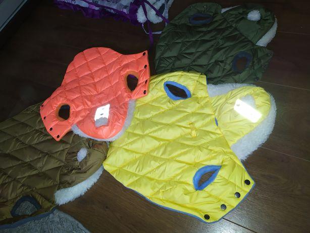 Новые Одежда для собак куртка на собаку на обхват груди 28-35 см.