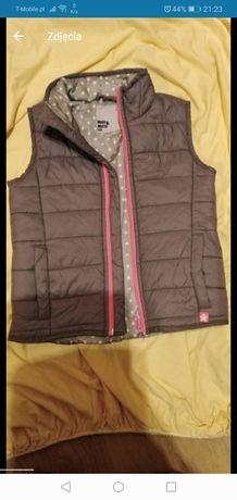 Bezrękawnik kamizelka 4-5 lat pikowana wiosna jesień kurtka bluza