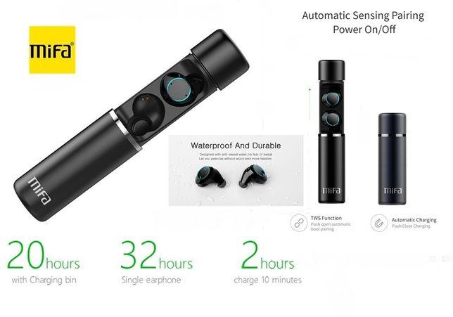MIFA X1 Сенсорные Наушники Стерео Гарнитура Bluetooth 5.0+Аккумулятор