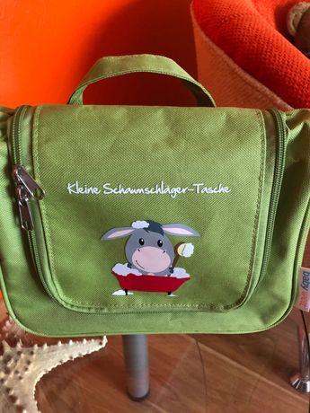 Сумочка -косметичка для детских принадлежностей в подарок соска