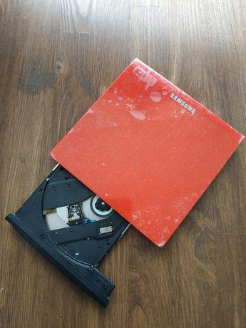 Внешний Оптический Переносной привод DVD-RW Samsung SE-208GB RED