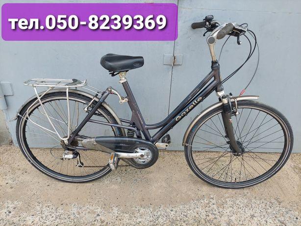 Продам велосипед двух подвес=Gazelle=из Германии