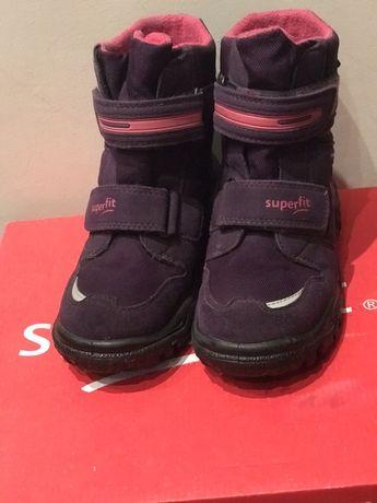 Ботинки зимние Superfit на девочку