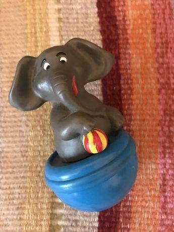Игрушка, неваляшка, слон