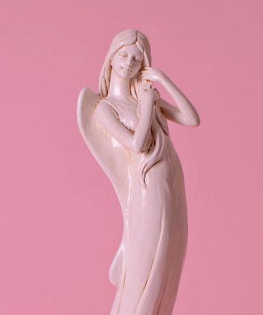 Anioł figura secesyjna, figurka anioła