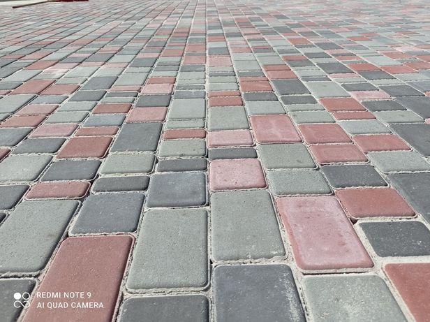 Укладка тротуарної плитки Київ Святошинський
