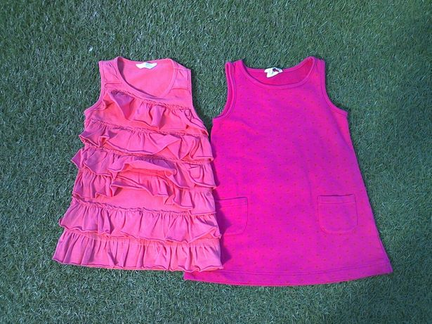 Sukienka dla dziewczynki w rozmiarze 98 - 104cm