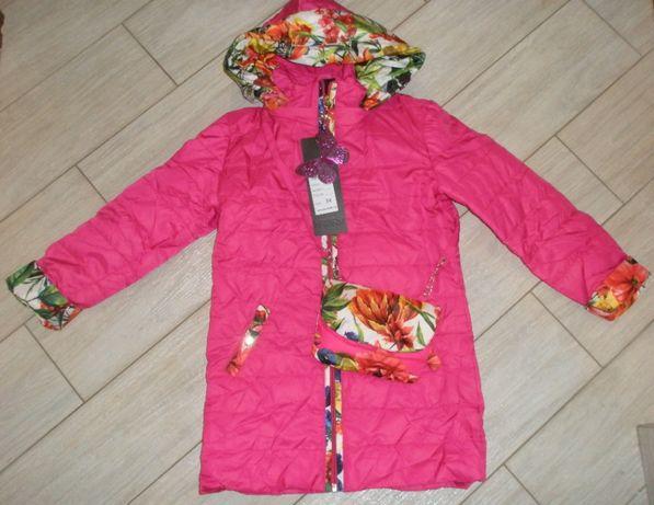 Куртка «Цветы», малина Производитель: Manifik