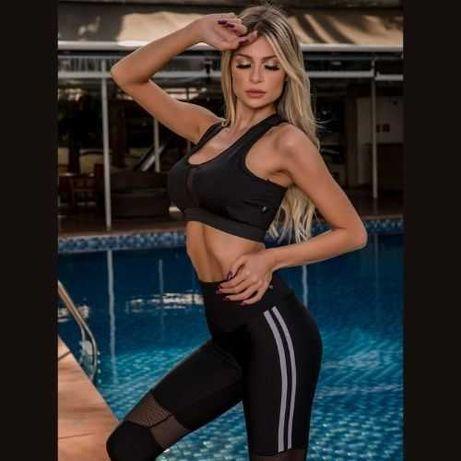 Conjunto TOP Fitness Brasileira