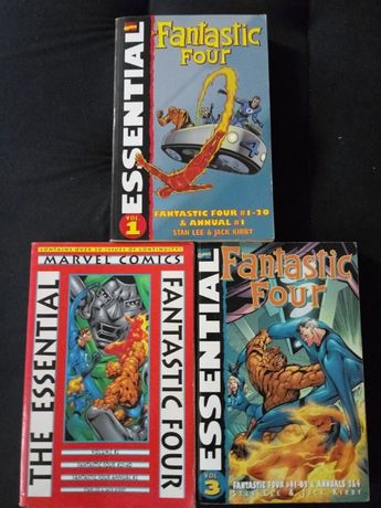 Essential Fantastic Four tomy 1-3