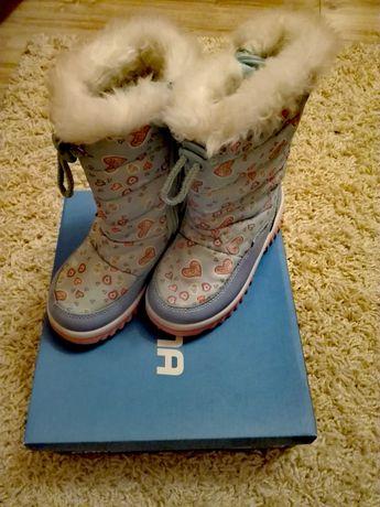 Śniegowce dziewczęce CORTINA rozm. 27