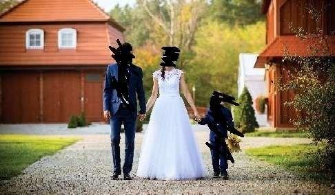 Suknia Sukienka Ślubna jak Nowa r. 34 xs Koronka Gipiura Tiul Bolerko