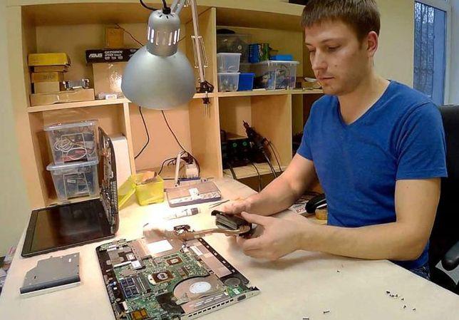 Ремонт компьютеров, ноутбуков Софиевская Борщаговка. Установка Windows