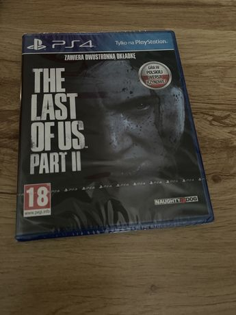 The Last of Us Part II, TLoU 2, nowa w folii, Ps4, PlayStation 4, ps5