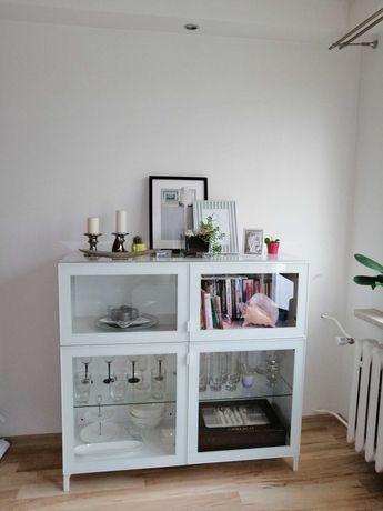 Witryna Ikea biała