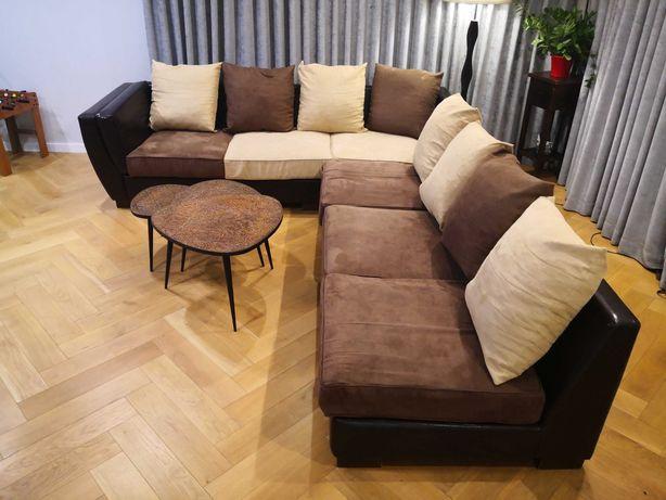 Sofa Narożnik różne układy 4+2; 3+3; 5+1; 6+0.