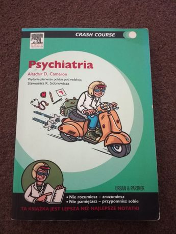 Psychiatria Crash Course, inne medyczne, medycyna, LEP, psychologia