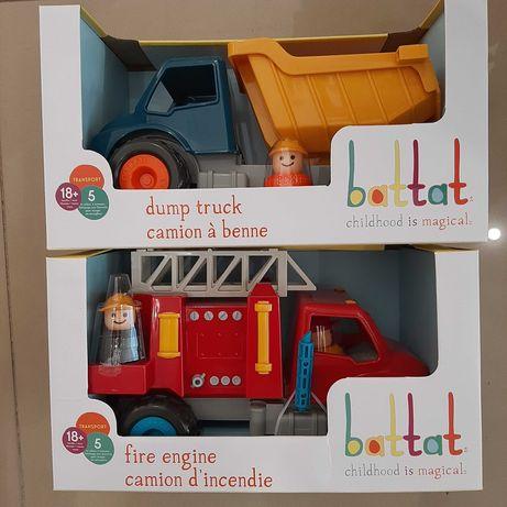 Игрушка из серии Первые машинки Battat Lite Пожарная машина Самосвал