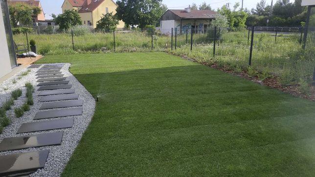 zakładanie ogrodów, automatyczne nawadnianie, brukarstwo