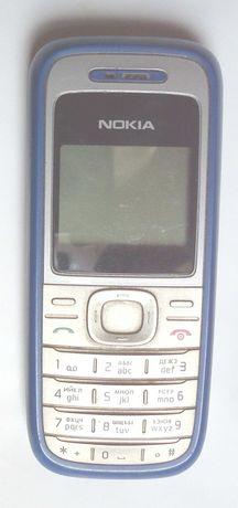 Робочий мобільний Nokia 1200 і 105 телефон Нокія синій + SIM Водафон